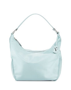 Furla Hope Nappa Leather Hobo Bag, Light Blue (Rugiada)