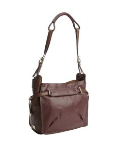 Kooba plum leather 'Flynn' shoulder bag