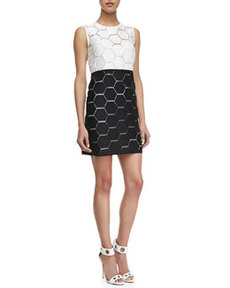 Eloise Hexagon Shift Dress   Eloise Hexagon Shift Dress