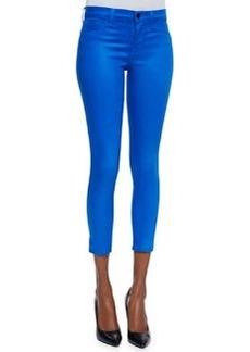 Mid-rise Capri Pants, Lacquered Breakwater Blue   Mid-rise Capri Pants, Lacquered Breakwater Blue