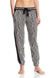Kensie Women's Printed Cropped Pajama Pant