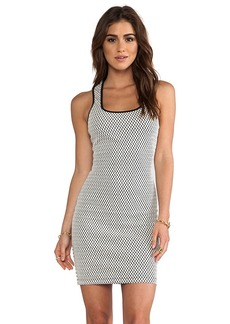 T-Bags LosAngeles Tank Dress in White