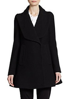 Jill Stuart Flared Wool Jacket