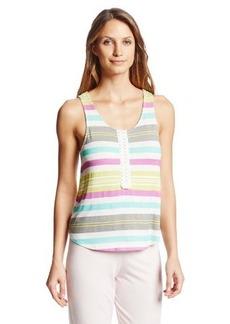 Kensie Women's Stripe Pajama Tank