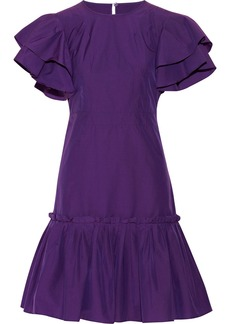 Marni Ruffled cotton-blend dress