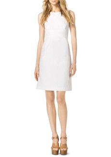 Michael Kors Floral-Texture Dress