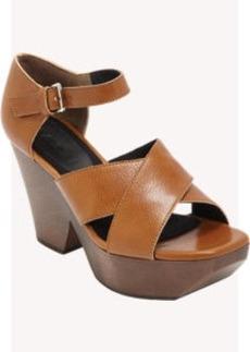 Marni Wooden Platform Sandal