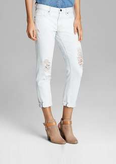 GENETIC Jeans - Alexa Skinny Straight Boyfriend Crop in Spike