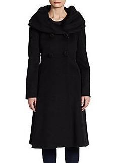 Cinzia Rocca Portait Collar Dress Coat