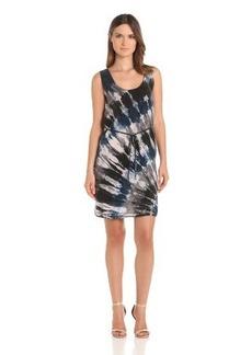 C&C California Women's Bemberg Tie Dye Dress