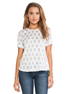 Rebecca Taylor Short Sleeve Tee in White
