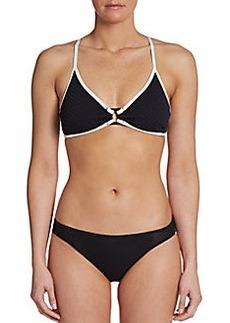 Nanette Lepore Vixen Triangle Bikini Top