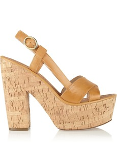Diane von Furstenberg Raleigh leather sandals
