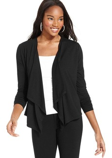 Style&co. Draped Open-Front Cardigan
