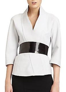 Donna Karan Belted Kimono Jacket