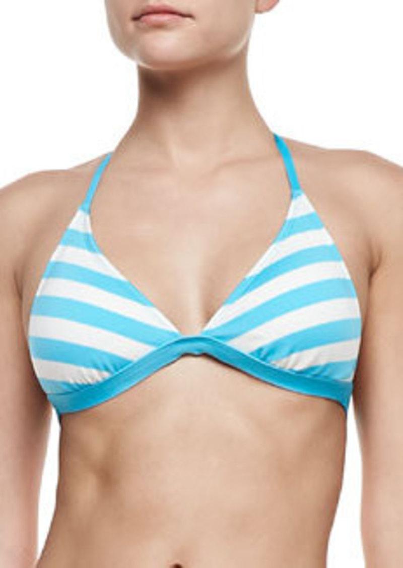 Ella Moss Swim Cabana-Stripe Classic Halter Swim Top