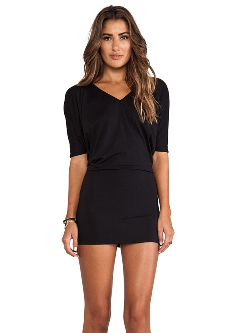 Susana Monaco Brooke Batwing Dress in Black