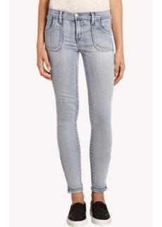 J Brand Retro Zip Skinny Jean