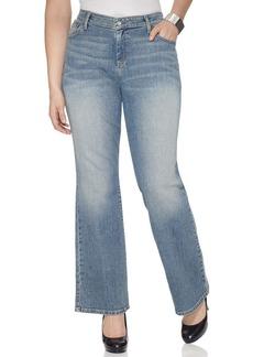 Levi's® Plus Size 580 Curvy Defined Waist Bootcut Jeans, Desert Sky Wash