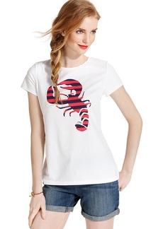 Tommy Hilfiger Short-Sleeve Striped Lobster Tee