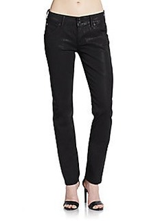 Hudson Collin Waxed Skinny Jeans