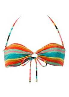 Roxy Wave Frenzy Adjustable Bandeau Bikini Top - Women's