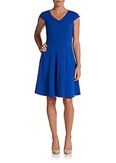 Calvin Klein Cap Sleeve A-Line Dress