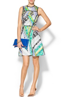 Shoshanna Bermuda Dunes Print Kailey Dress