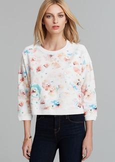 Rebecca Taylor Sweatshirt - Poppy Blossom Print
