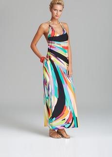 Trina Turk Prisma Swim Cover Up Maxi Dress