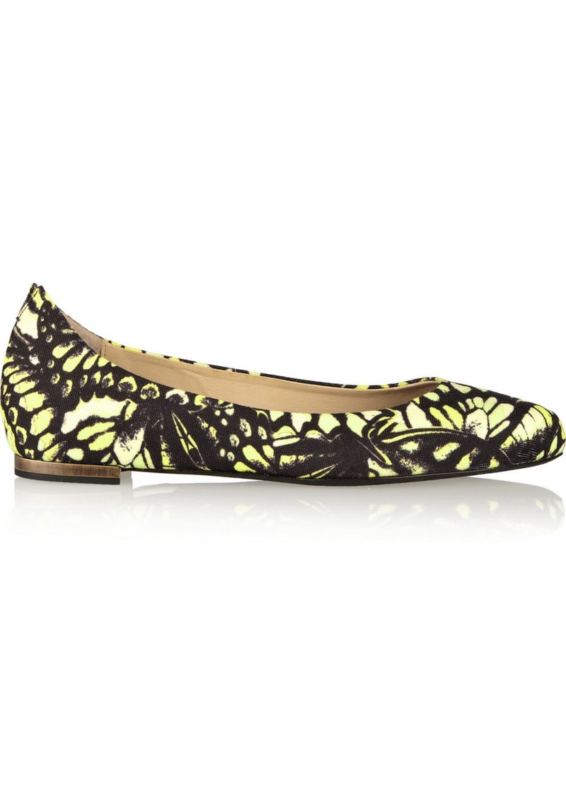 Alexander Mcqueen Butterfly Shoes Price
