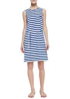 Paseo Striped Cotton Knit Dress   Paseo Striped Cotton Knit Dress