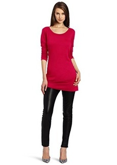 Michael Stars Women's Slub Long Sleeve Tunic