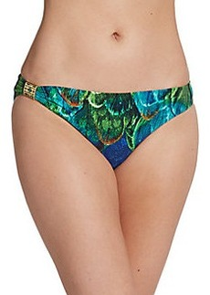 Natori Tropical-Print Bikini Bottom