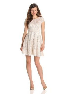 ABS by Allen Schwartz Women's Lace Dress