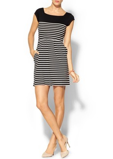 French Connection County Cotton Stripe Dress
