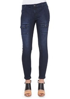 Joie So Real Cargo-Pocket Skinny Jeans, River