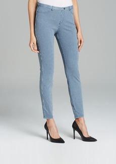 HUE Leggings - Pinstripe Jeans