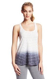 Calvin Klein Performance Women's Burnout Dip Dye Tank with Back Slit