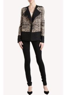 Proenza Schouler Tweed Double-Breasted Jacket