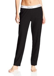Calvin Klein Women's Modern Cotton Straight Leg Pant