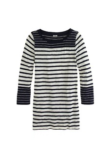 Painter tee in colorblock stripe