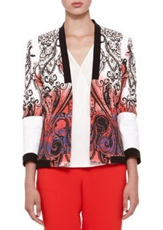 Etro Open-Front Paisley Jacket
