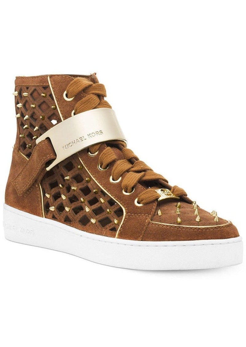 michael michael kors michael michael kors keaton high top sneakers shoes shop it to me. Black Bedroom Furniture Sets. Home Design Ideas