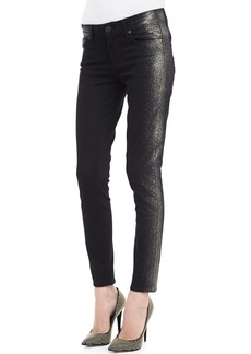 Paige Denim Verdugo Shimmer-Side Slim Jeans