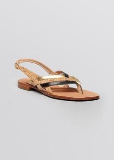 DIANE von FURSTENBERG Flat Sandals - Carley