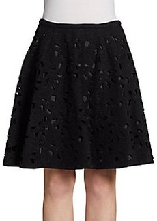 Jill Stuart Cutout Lace Skirt