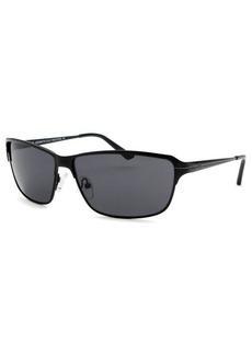 Kenneth Cole Reaction Women's Rectangle Black Sunglasses