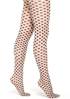 Hue Sheer Dots with Control Top Tights