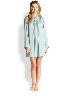 Donna Karan Laundered Satin Sleepshirt